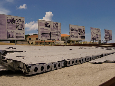 Cuban Missile Crisis Display at the Castillo de San Carlos, Havana, Cuba, June, 2016
