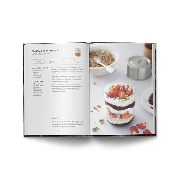 Lets do Lunch Box recipe book Black Blum