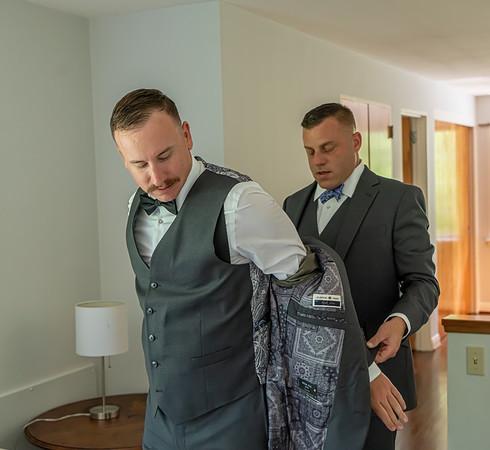 Suit Up Boys - Nick's Wedding