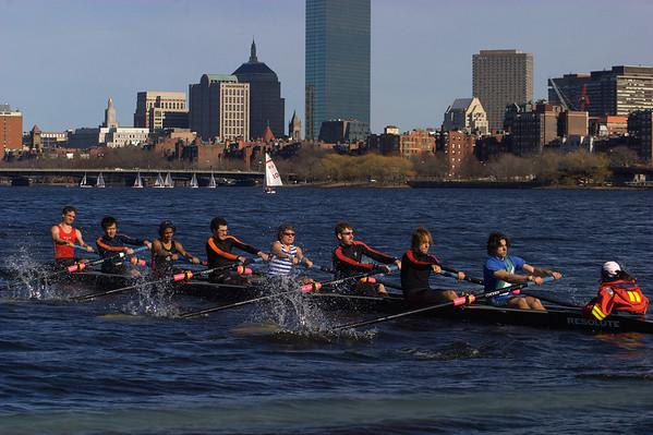 Spring Break Rowing 2007