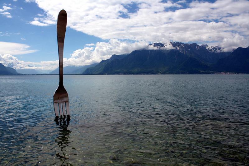 Lake Geneva, Vevey, Switzerland