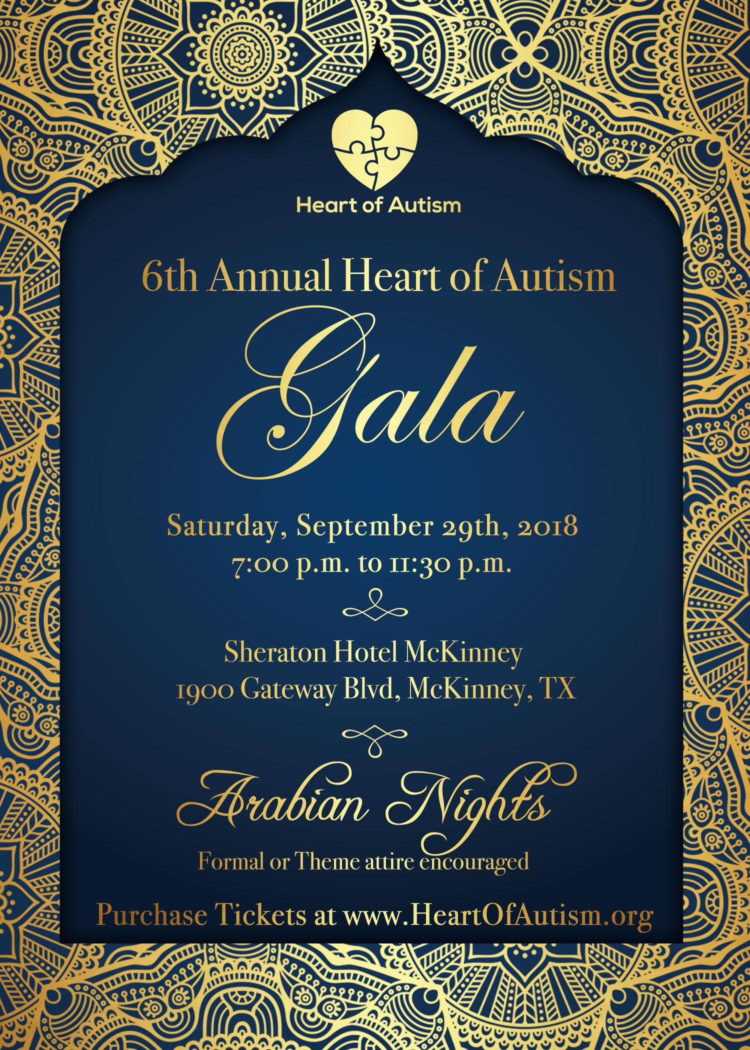 6th Annual Heart of Autism Gala