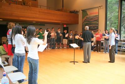 11_2007 Choir Clinic with Dr. David Flood