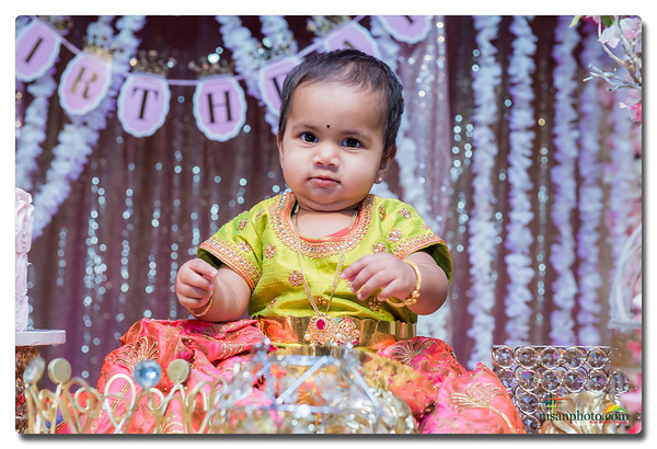 Meenakshi 1st Birthday Party