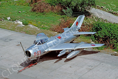 Albanian Air Force Shenyang F-6 Farmer Jet Fighter Airplane Pictures for Sale