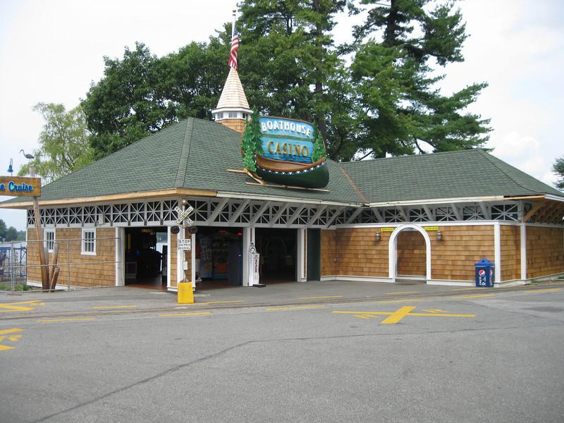 "The Lakeside Arcade was renamed ""Boathouse Casino""."