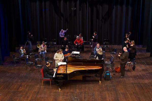 Orchestra Camerata Ducale, Guido Rimonda, Enrico Pace - Teatro Sociale di Pinerolo, 27 novembre 2012 - prove e concerto / rehearsal and concert