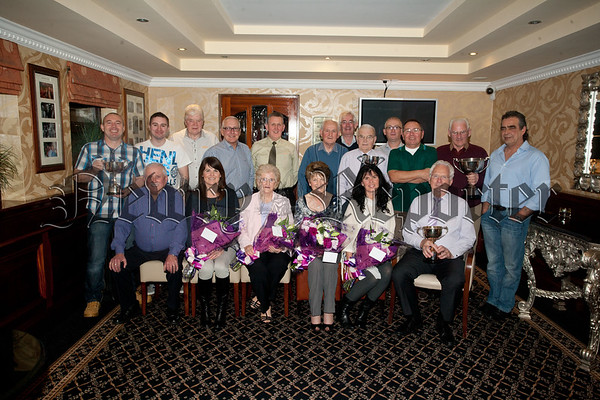 Bessbrook Outdoor Bowls Awards. Pictured are all prizewinners. RS1548005
