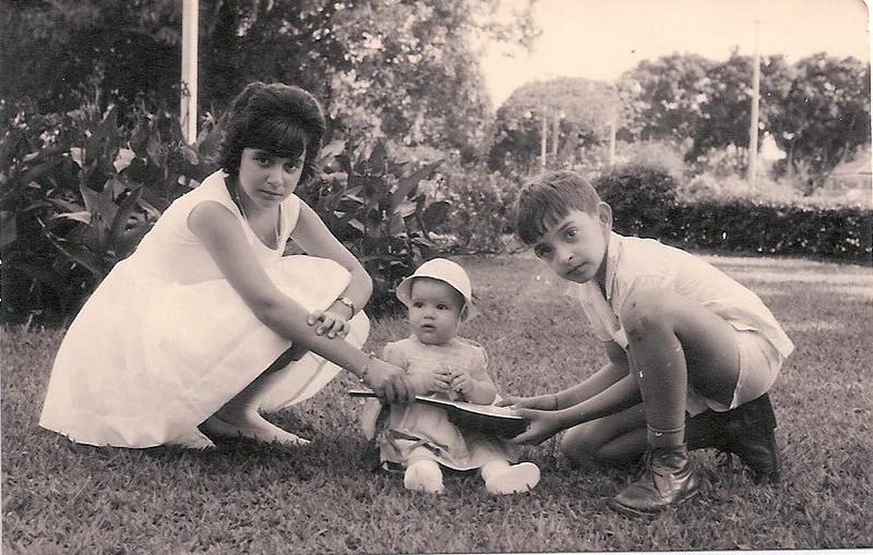 1962- Dundo Nucha Barata, Zezinha Gameiro e Luis Mota.