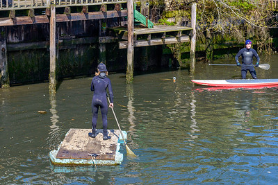 Surfrider Foundation Canal Cleanup Long Beach, NY 2014