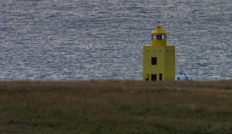 Unknown lighthouse off Reykjavik