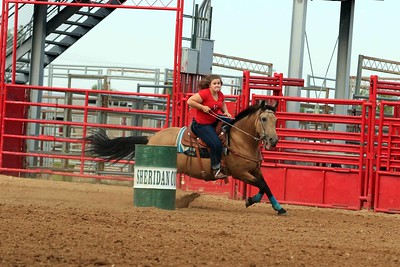 Sheridan Cowgirls Rodeo 8-9