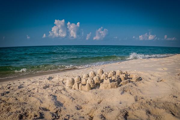 Sandcastle on Johnson Beach