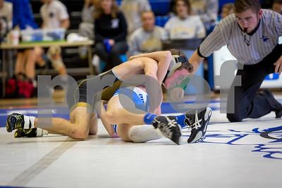 2017 BHS Wrestling vs Carrollton