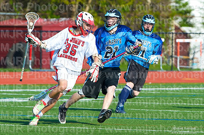 Lacrosse, Boys H.S. Varsity, St Johns VS St Marys, 05-15-09
