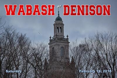 2016 Wabash at Denison (02-13-16)