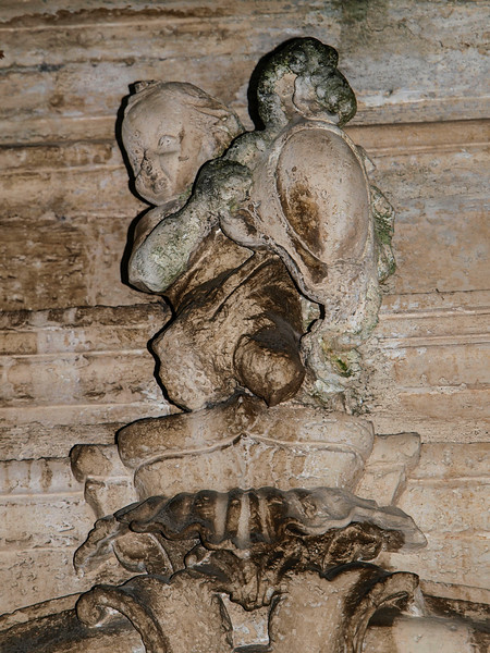 Cherub Above the door in Martina Franca