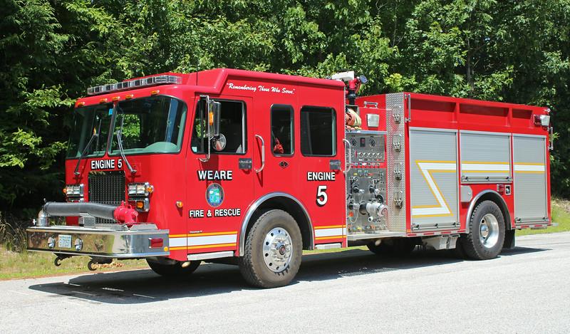 Engine 5 2003 Spartan / Valley 1250 / 1000