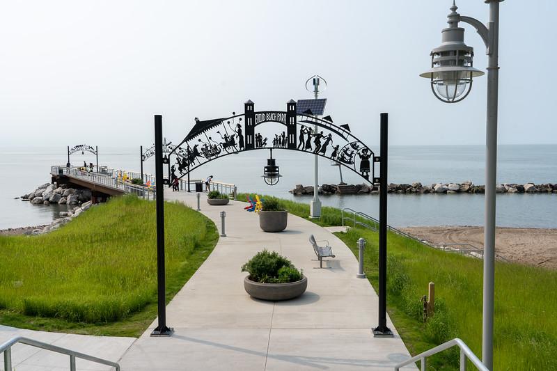 Euclid Beach Park pier