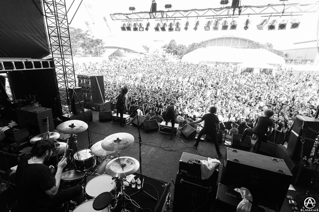 Good turn out - Soundwave Festival 2013