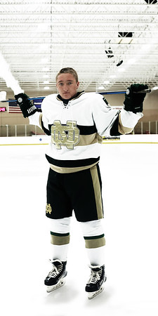 Notre Dame Hockey seniors 2020