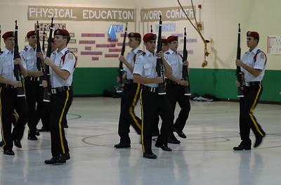 Drill Team - Jefferson School, MA vs. ACC
