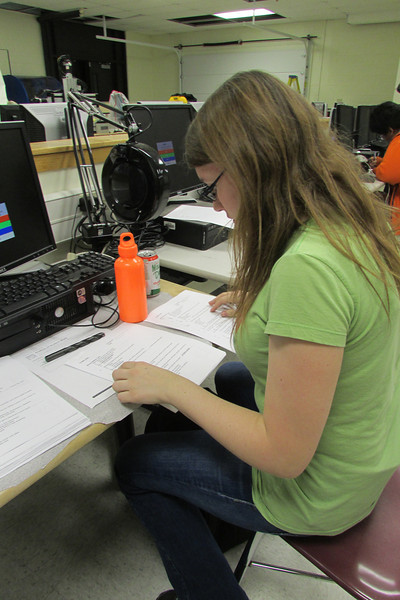 Haley Bates corrects safety tests