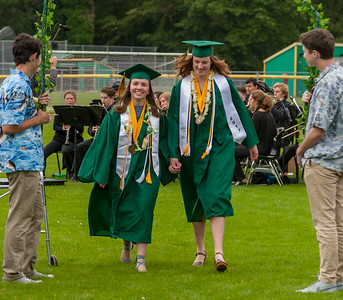 The Processional: Vashon Island High School Class of 2017 Graduation