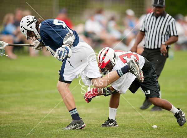 2011-03-26 Lacrosse 8th Boys Katy @ St. John's