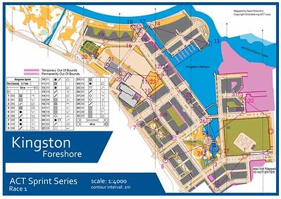 12 January 2020 Kingston Sprint