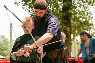 Archery - Sherwood Summer Camp 2015