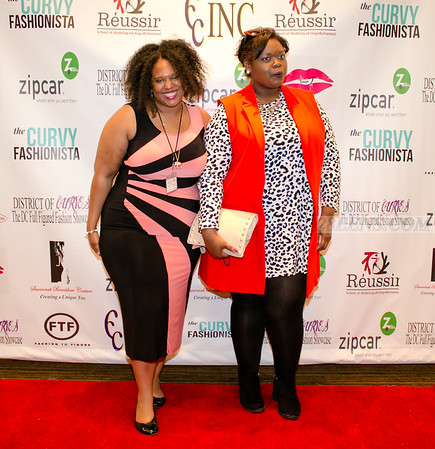 Backdrop Photos - 2016 District Of Curves: DC Full Figured Fashion Showcase