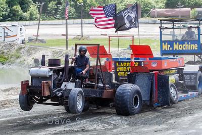 Truck Pull #3  -  11 July 2015  -  Legion Speedway