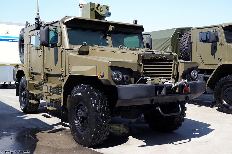 Второй вариант бронеавтомобиля Урал-53099 Тайфун-У (2nd version of Ural-53099 Typhoon-U armored vehicle)