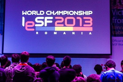IESF 5th esports World Championship Bucharest - 2013