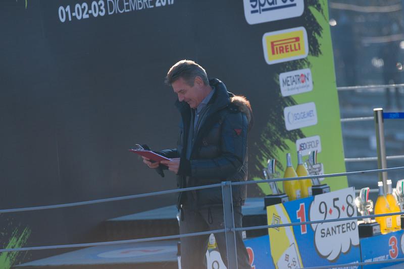 Premiazione Monza Rally Show