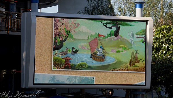 Disneyland Resort, Disneyland, Tomorrowland, Autopia, Honda, ASIMO, Bird