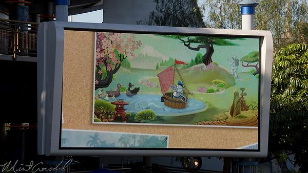 Disneyland Resort, Disneyland, Tomorrowland, Autopia, Honda, ASIMO, Bird