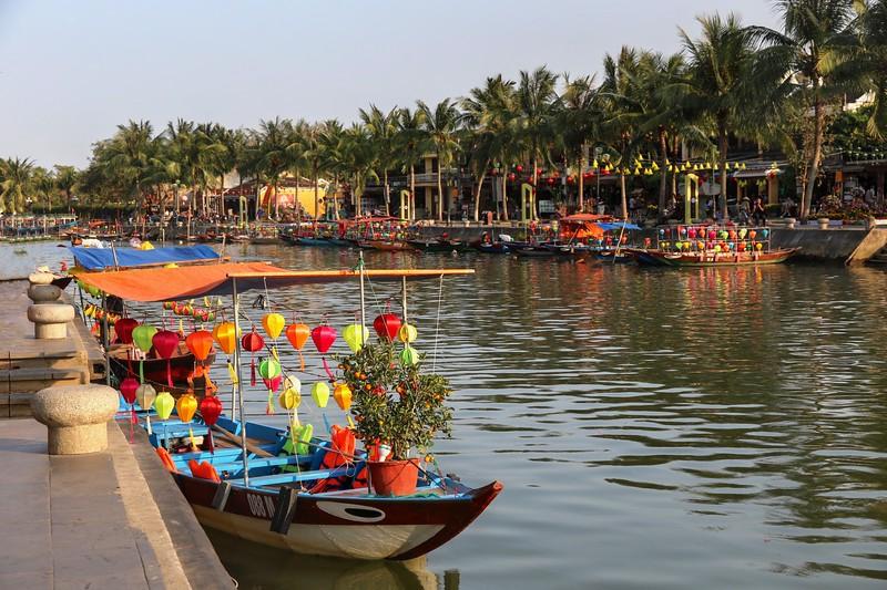 Thu Bon River - Hoi An