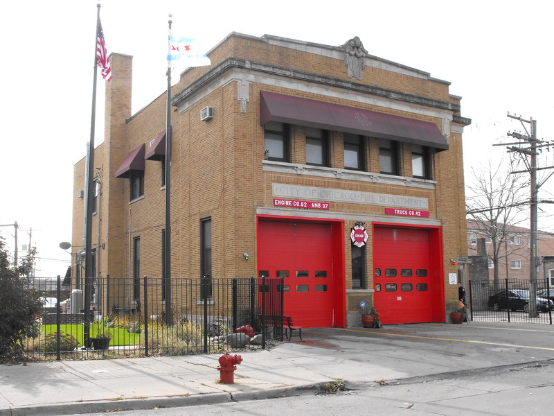 Chicago Firehouses  M.A.B.A.S. Division 9. Present