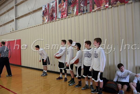 CHCA 2013 MS Boys 8th Gr A Basketball vs St. Thomas More