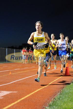 Boys' 3200 Meters - 2013 Oakland County Track Meet