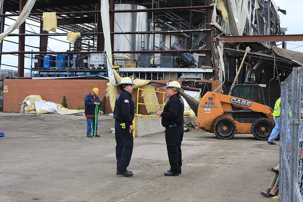 Waukegan Fire Department Building Explosion Recovery