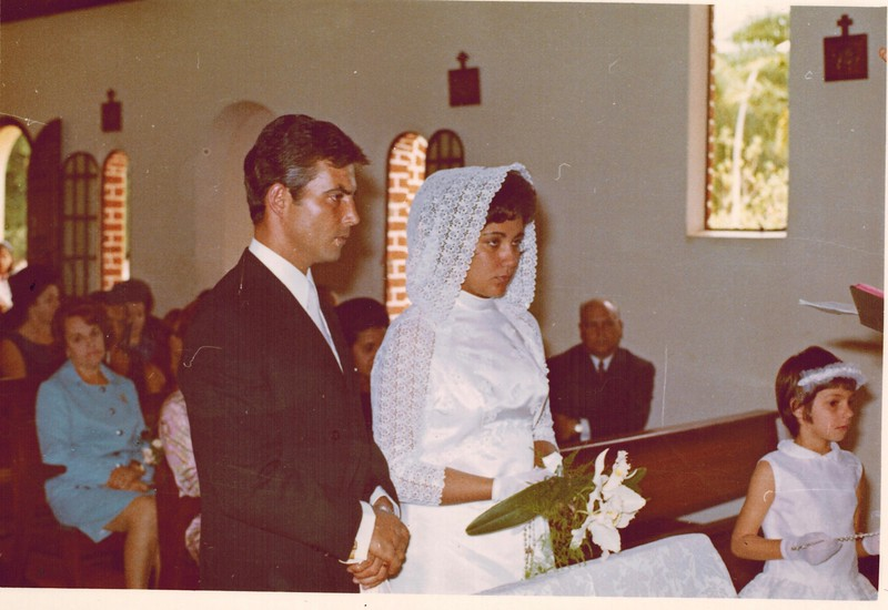 1970- Casamento da Milé Faria e Pina