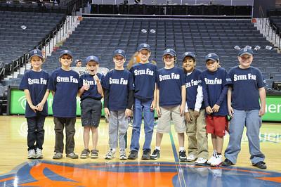 11.13.2010 Minors SteelFab at Bobcats Game