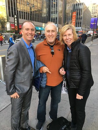 Oct. 17-19: Jason in NYC, MSG, Big Ten Media Day, Islanders Game, Visit Yellin Grandparents