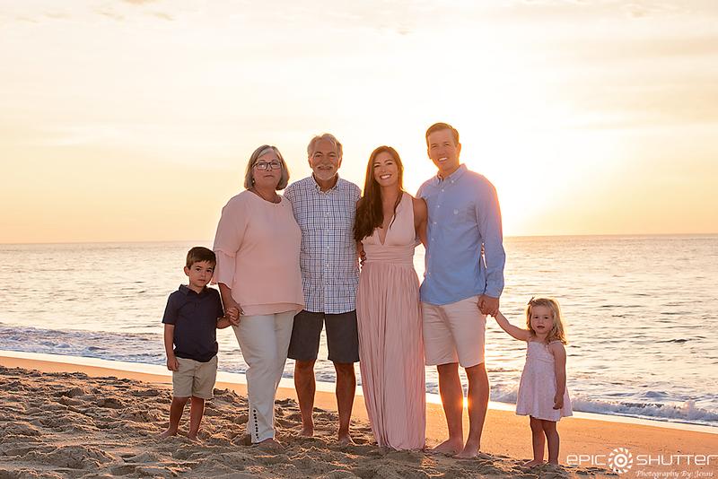 Sunrise,  Avon, North Carolina, Family Portraits, Family Vacation Photos, Children's Beach Portraits, Cape Hatteras National Seashore, Hatteras Island, Cape Hatteras Photographers, Outer Banks Photographers, OBX Photographers, Epic Shutter Photography