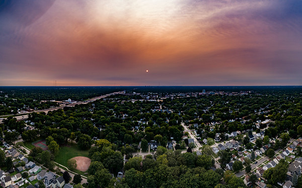 West Coast Fires Smoke Out Southeast Michigan