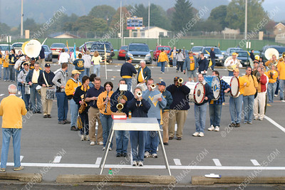2005 Homecoming -<br>Alumni Band Practice