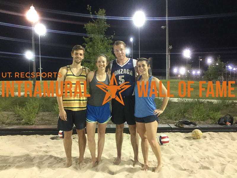 Spring 2017 Sand Volleyball Coed B Champ_Hit It and Quit It